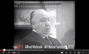 Alfred Hitchcock on Mastering Cinematic Tension