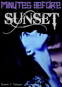"""Shannon Thompson's novel """"Minutes Before Sunset"""" was a Goodreads Book of the Month in July."""