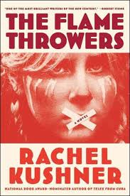The Flamethrowers by Rachel Kushner is about motorcycle racing and the New York art world of the 1970s.