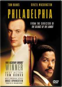Philadelphia was released in 1993, starring Tom Hanks and Denzel Washington, and was one of the first mainstream films about HIV/AIDS. It won two Academy Awards and nominated for two others, including best screenplay.