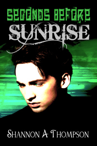Seconds Before Sunrise is second book in the Timely Death series, a Young Adult paranormal series by recent University of Kansas graduate Shannon A. Thompson.