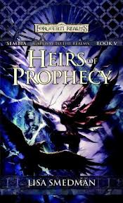 Heirs of Prophecy is part of the Forgotten Realms Trilogy by best-selling science fiction author Lisa Smedman.