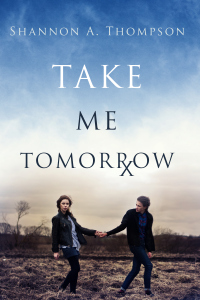 Shannon S. Thompson's YA dystopian novel, Take Me Tomorrow, features a clairvoyant drug and an uprising against the oppressive State.
