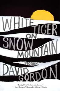 "David Gordon's new story collection, White Tiger on Snow Mountain, features sex, murder, ghosts, and frauds. Its opening story, ""Man-Boob Summer,"" was published in The Paris Review."