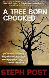 A Tree Born Crooked, a crime novel by Steph Post, is set in the Florida panhandle and follows the disaster of a theft gone wrong.