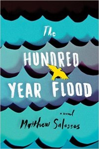 "Matthew Saleses' novel The Hundred-Year Flood has been called ""epic and devastating and full of natural majesty."" It follows a young man to Prague as he struggles to understand his identity and how it fits into the world."