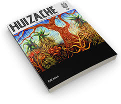 The second issues of Huizache included Serros' essay, plus a poem by Lorna Dee Cervantes and an essay about smuggling books into Tuscon, AZ, by Tony Diaz.