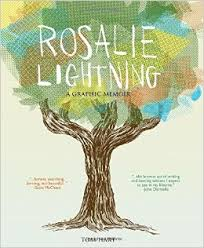 Rosalie Lightning is cartoonist Tom Hart's graphic memoir about the death of his infant daughter Rosalie and the struggle to understand how to live in her absence.