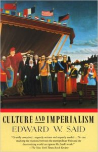 Edward W. Said's book Culture and Imperialism demonstrates that Western imperialism's most effective tools for dominating other cultures have been literary in nature as much as political and economic.