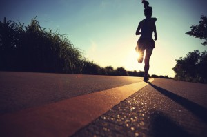 In this essay at the Washington Post, Melissa Stephenson tells the story of how running helped her cope with being a single mom