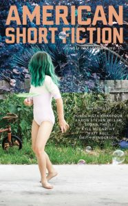 "Leona Theis' story ""How Sylvie Failed to Become a Better Person through Yoga"" appears in the latest issue of American Short Fiction, alongside Matt Bell, Smith Henderson, and Porochista Khakpour."